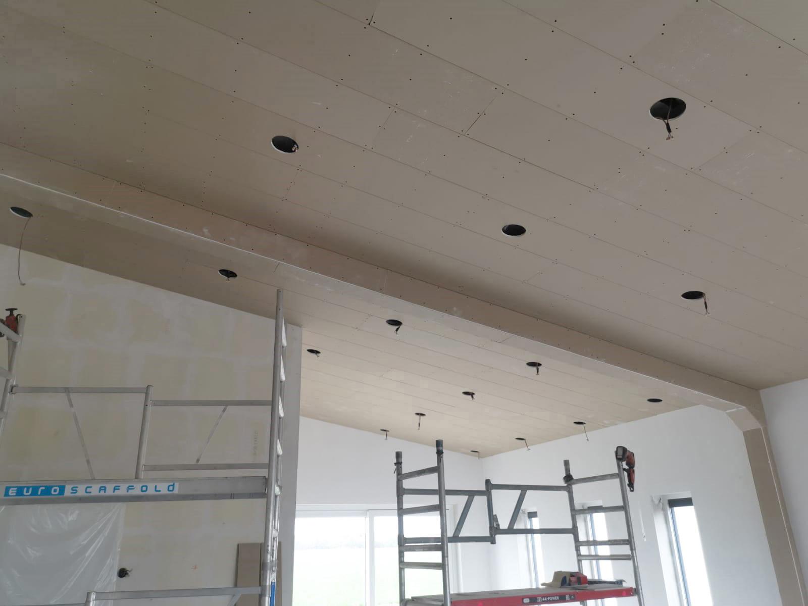 Gipsplaten Verlaagd Plafond Woonkamer