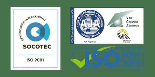 ISO 9001 Certificaat Verlaagd Plafond Plaatsen