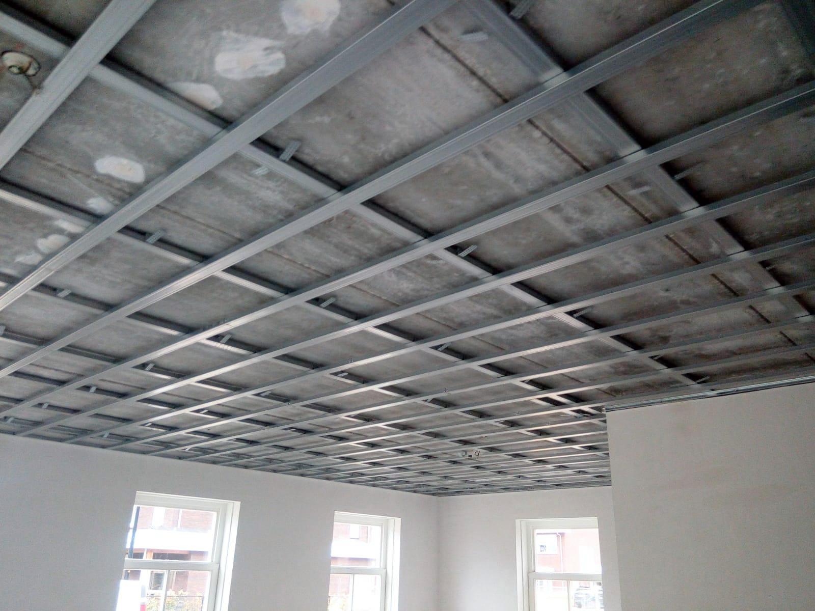 Metal Stud Constructie Verlaagd Plafond